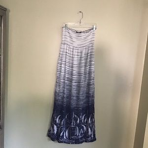 BCBGMAXAZRIA Women's Sail Boat Swim Cover up Sz XS